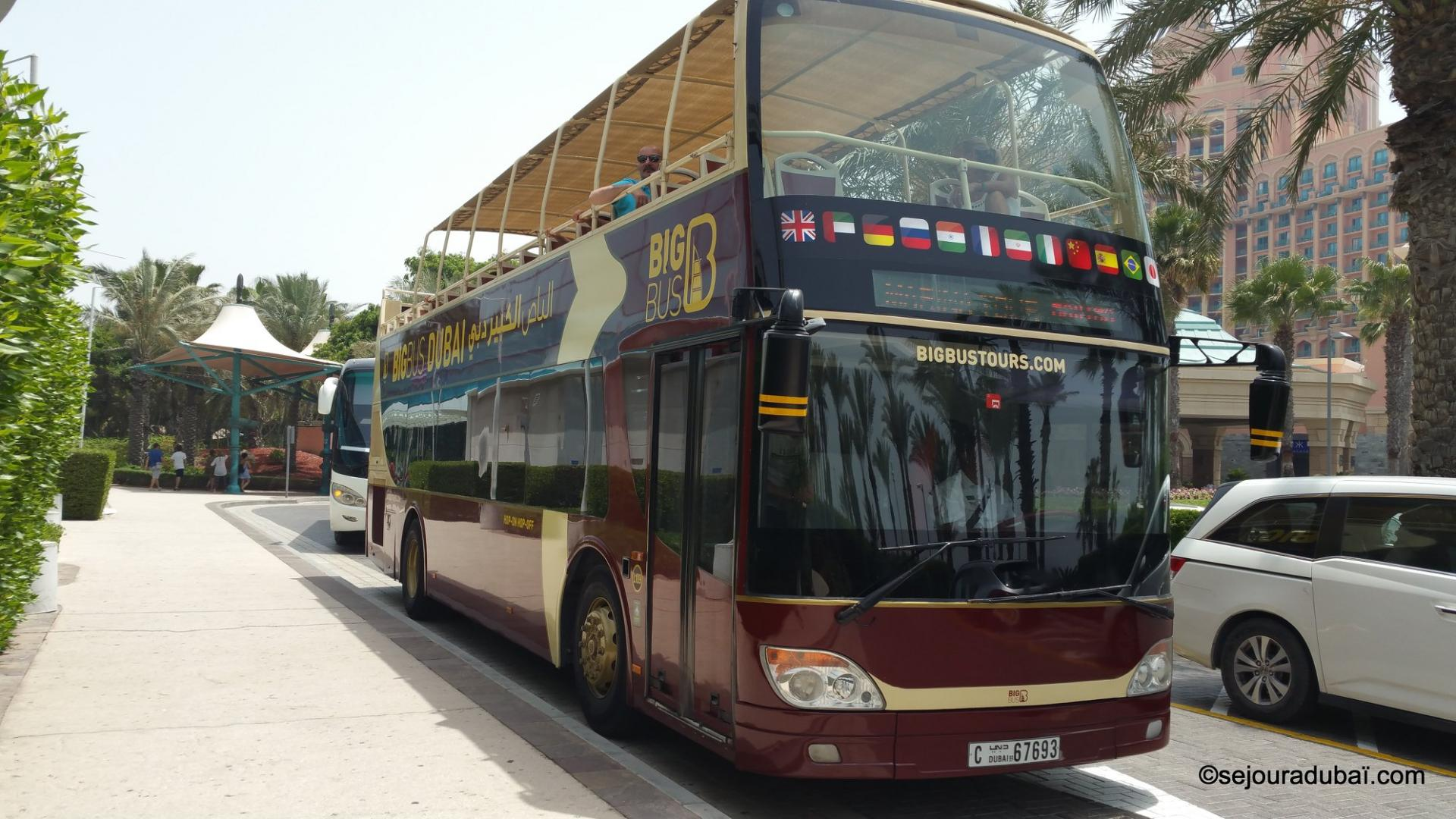 Big Bus tour Dubaï