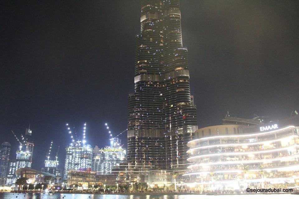Dubaï fountain burj khalifa