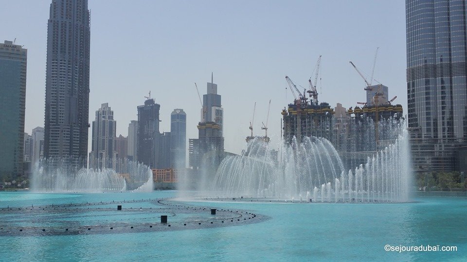Dubaï Fountain