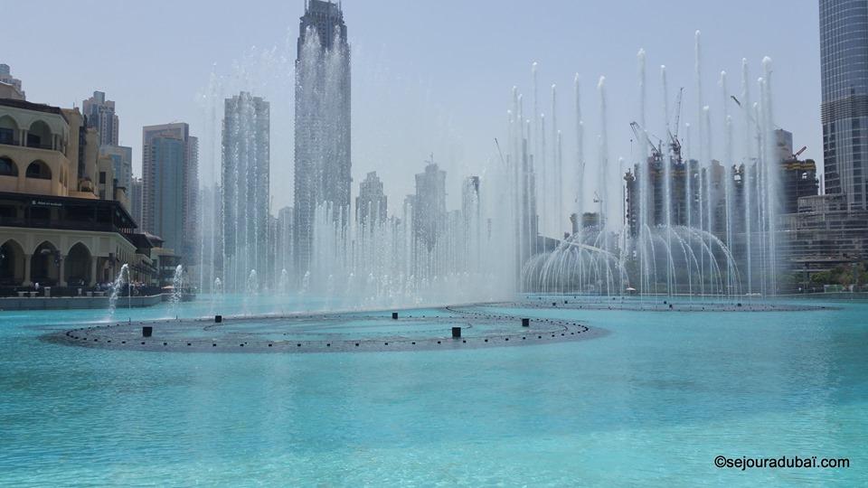Dubaï Fountain