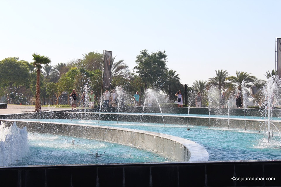 Dubaï Frame Fountain Show