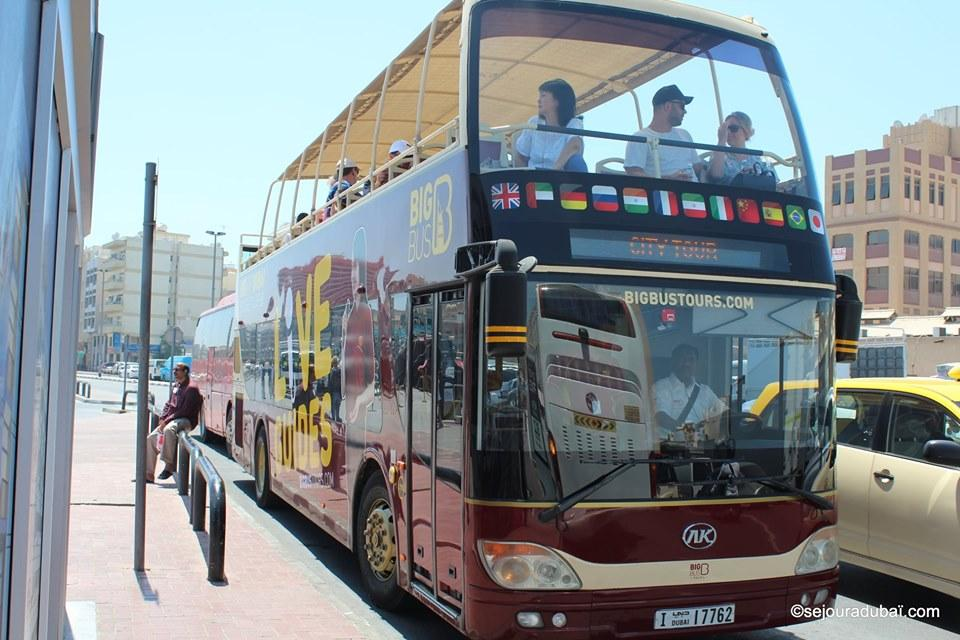 Big Bus Tour : Visite de Dubaï en Bus Hop-on Hop-off