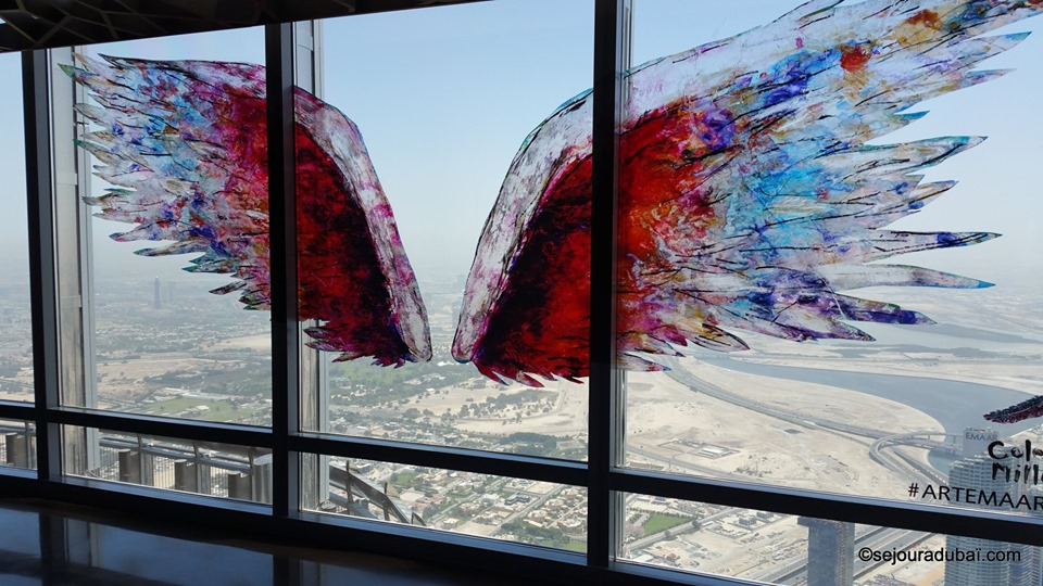 Burj Khalifa Fly