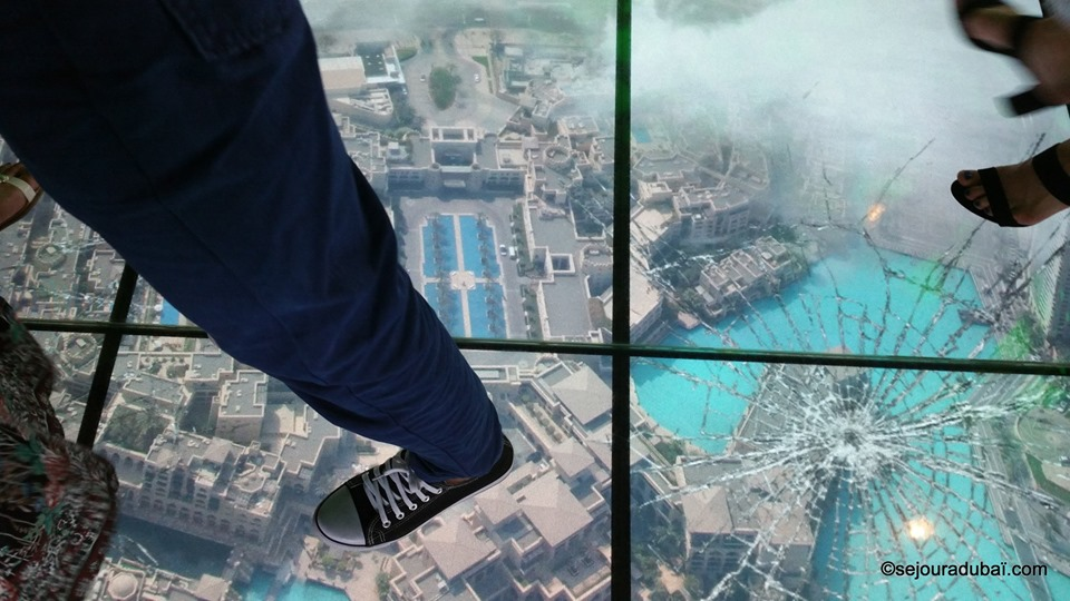 Burj Khalifa Glass Floor