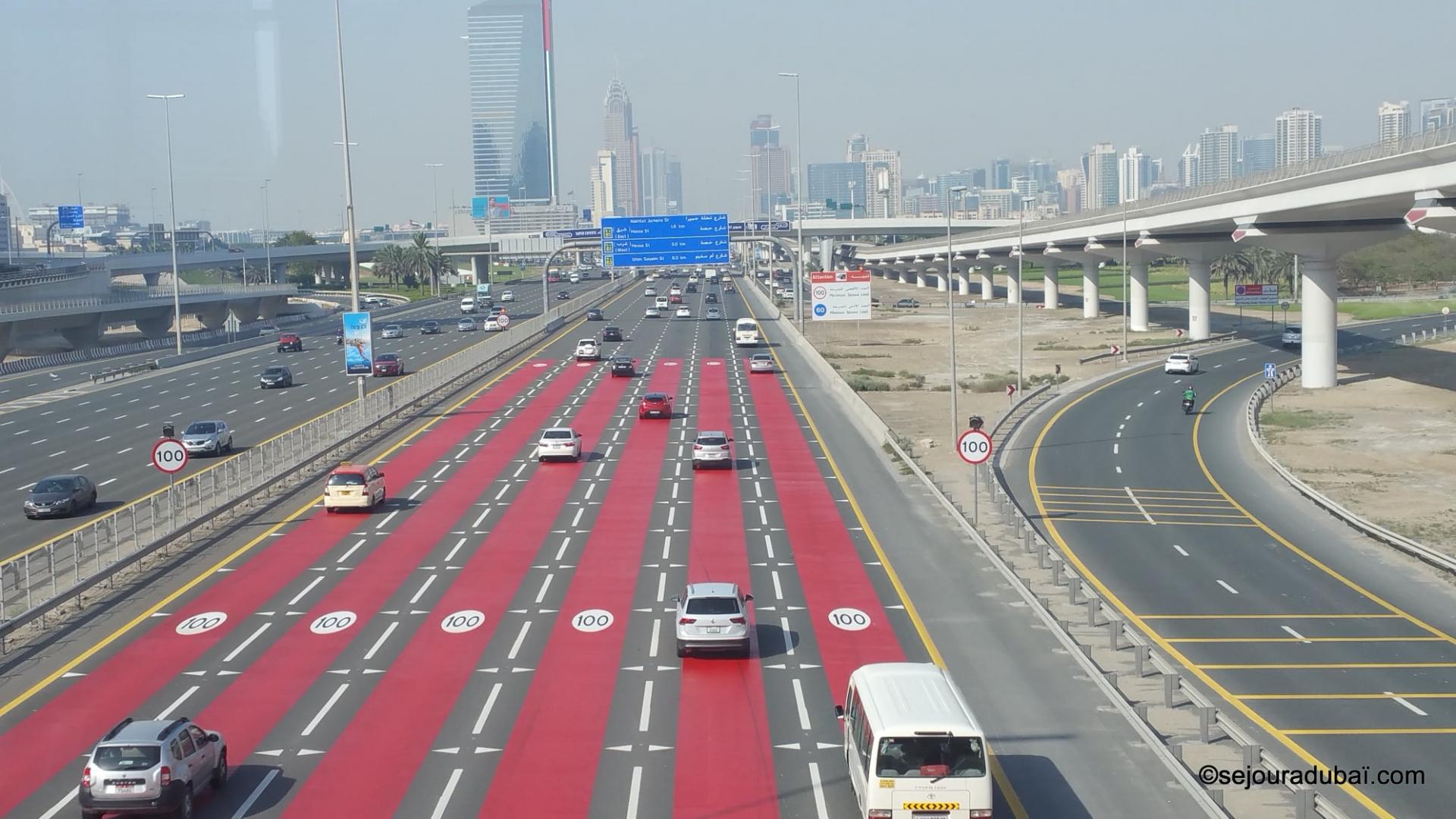 De Dubaï à Abu Dhabi