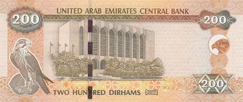 Dubaï 200 dirhams