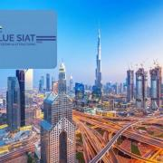 Dubai blue siat pass