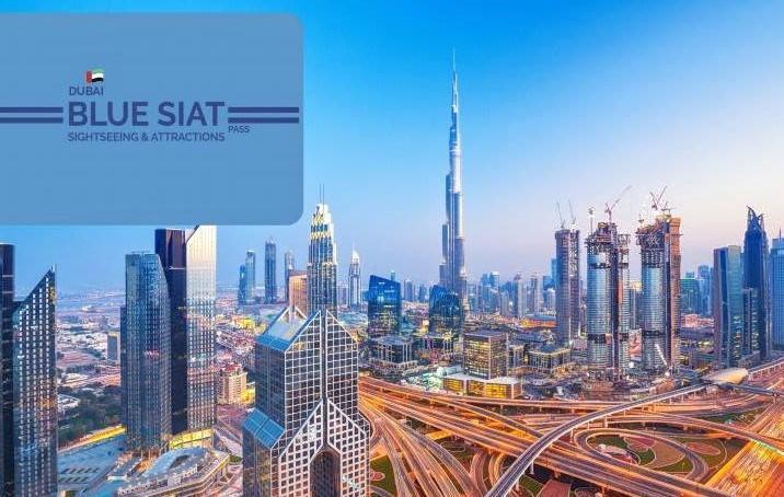 Dubaï blue siat pass
