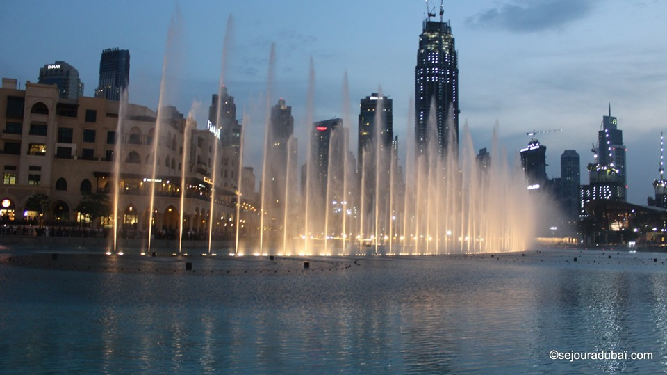 Dubaï Fountain  Show