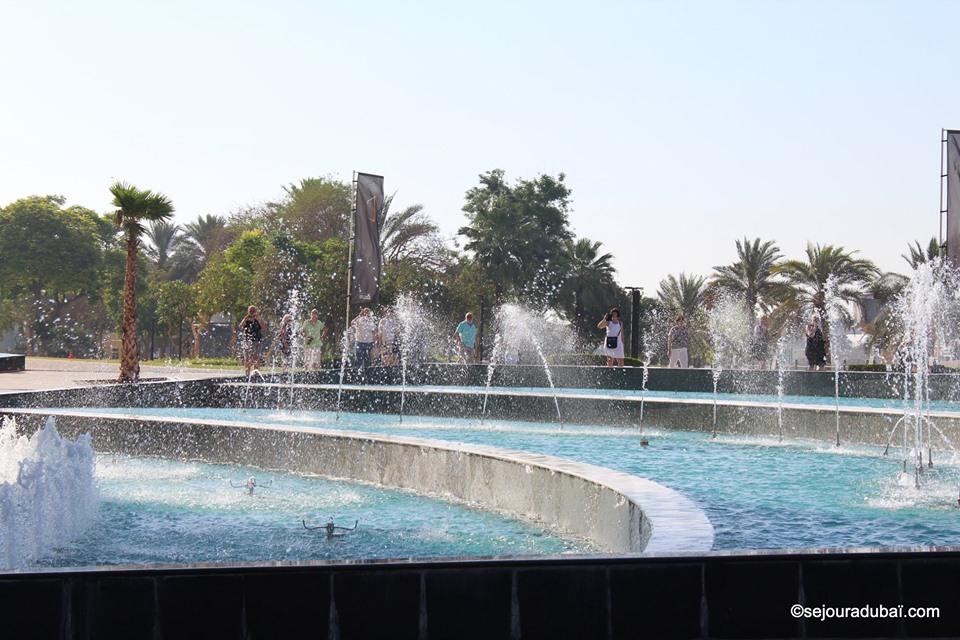 Dubaï Frame Fountain Show