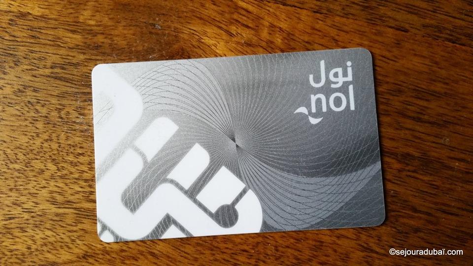 Dubai nol silver card