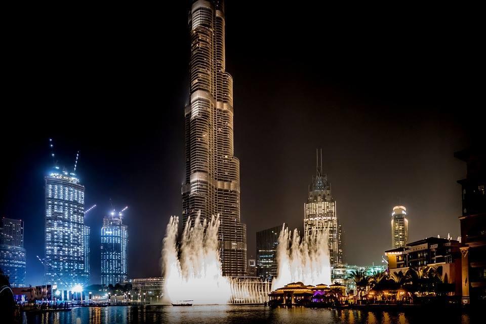 Les fontaines dansantes de Dubaï