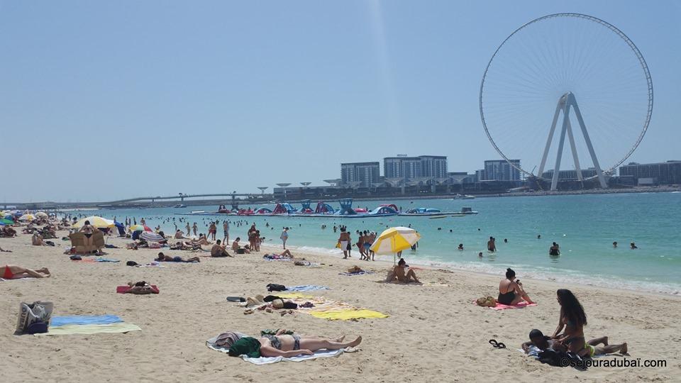 Plage de Jumeirah Beach Résidence