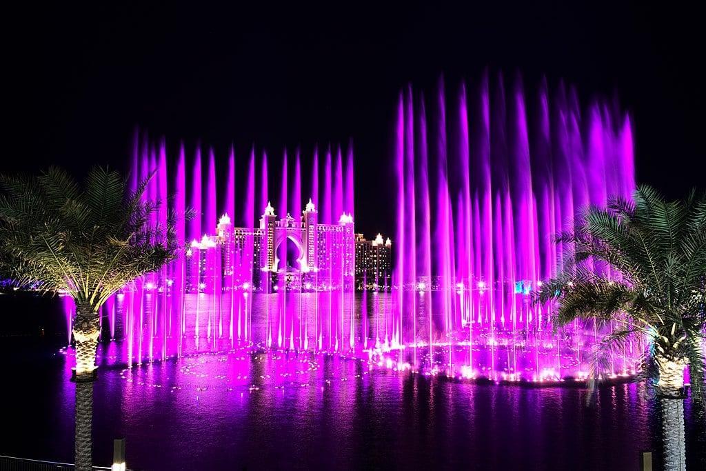 The palm fountain dubai 1